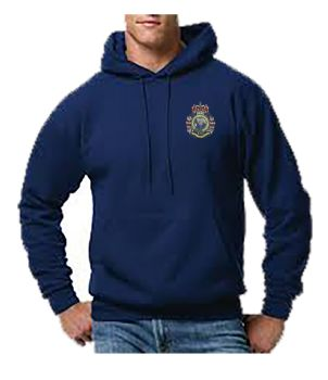 Sapper Support Embroidered Hoodie